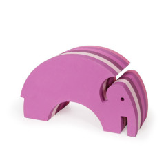 bObles Elefant i Multi Pink