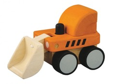 Plantoys Bulldozer - Gul