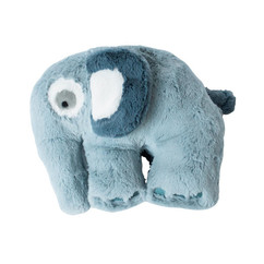 Sebra Plysdyr Elefant - Cloud Blue