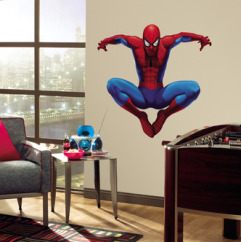 Roommates Wallstickers Spiderman