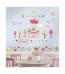 RoomMates - Wallstickers Cupcake Land