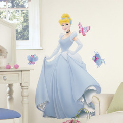 Roommates Wallstickers Disney Princess Askepot