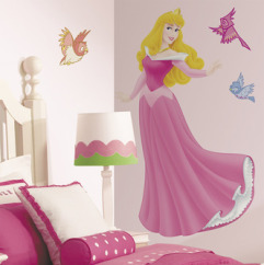 Roommates Wallstickers Disney Princess - Skønheden