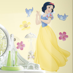 Roommates Wallstickers Disney Princess Snehvide