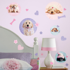 RoomMates - Wallstickers Puppy Spots