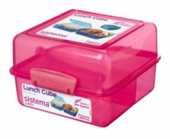 Sistema Madkasse - Itsy Bitsy Lunch Cube Pink