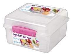 Sistema Lunch Cube Max - Pink