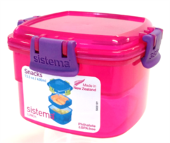 Sistema Snack to go - Pink