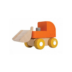 Plantoys mini bulldozer Orange