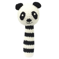 NatureZoo Sir Panda rangle - Sort/hvid