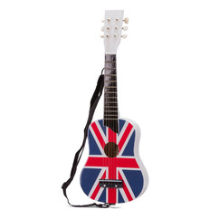 New Classic Toy Guitar - UK flag