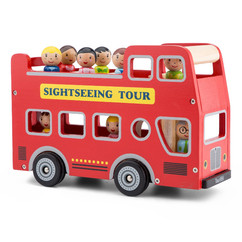 New Classic Toy - Seightseeing Bus